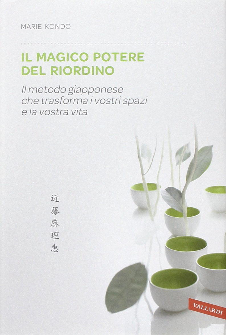 MarieKondo-IlMagicoPOtere del Riordino